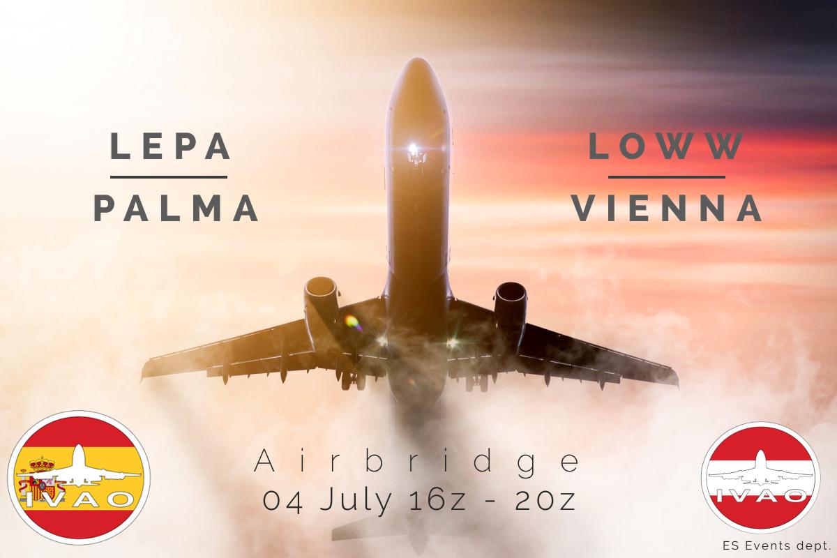 [ES-AT] PALMA - VIENNA AIRBRIDGE